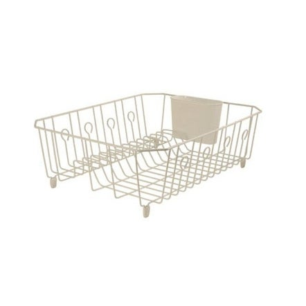 Shop Rubbermaid 6032 Ar Bisqu Large Dish Drainer With