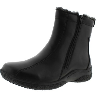 Propet Womens Hope Leather Waterproof Winter Boots
