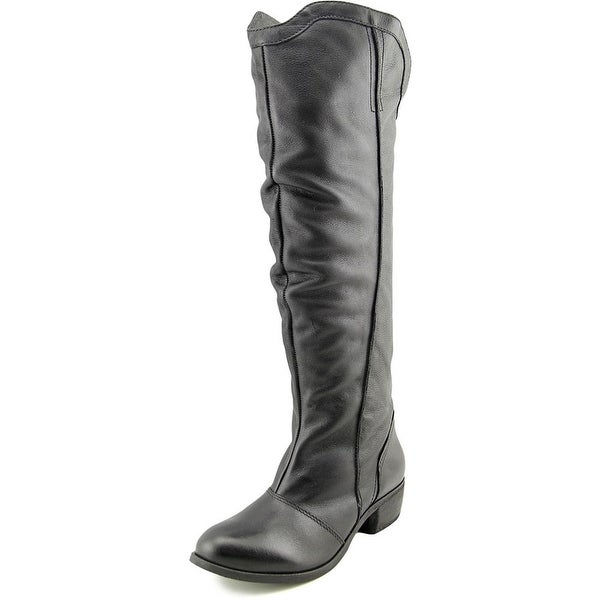 Matisse Fairlane Round Toe Leather Knee High Boot
