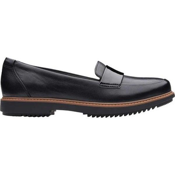 Raisie Arlie Loafer Black Leather