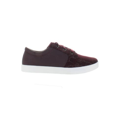 Barefoot Freedom Womens Ruby Burgundy Fashion Sneaker Size 7.5