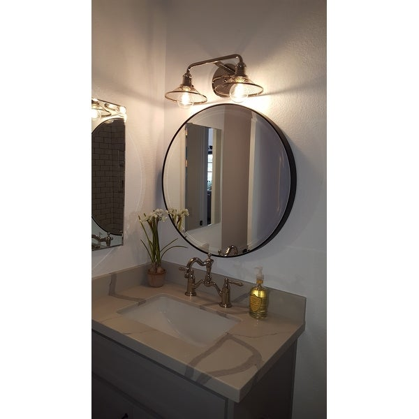 Feiss Oil Rubbed Bronze Decorative Wall Mirror White Free Shipping Today 9658877
