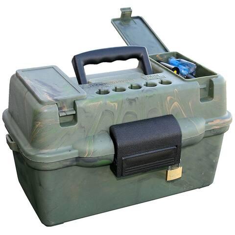MTM Deluxe Shotshell Case 100 Rd. Camo