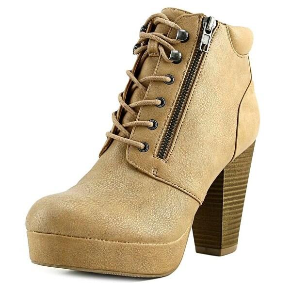 Material Girl Mrheta Tan Boots