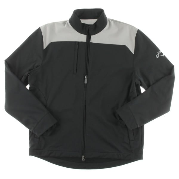 be85e7e5b8 Shop Callaway Mens Athletic Jacket Colorblock Golf - L - Free Shipping On  Orders Over  45 - Overstock - 20742647