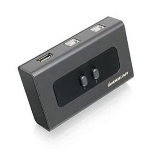 Iogear 2 Computer 2-Port Usb 2.0 Peripheral Sharing Switch, Gub212