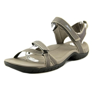 Teva Verra Women W Open-Toe Synthetic Brown Sport Sandal