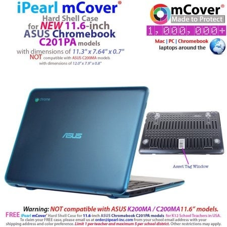 99e67691c81e Ipearl Inc - Ipearl Mcover Hard Shell Case For 11.6 Asus Chromebook C201pa  Series Laptop - Cl