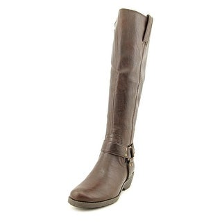 Aerosoles Mezzotint Wide Calf Women  Round Toe Synthetic Brown Knee High Boot