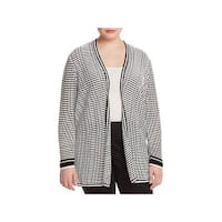 Nic + Zoe Womens Plus Cardigan Sweater Knit Open Front - 2X