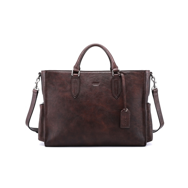 Old Trend Monte Genuine Leather Tote Bag. Opens flyout.