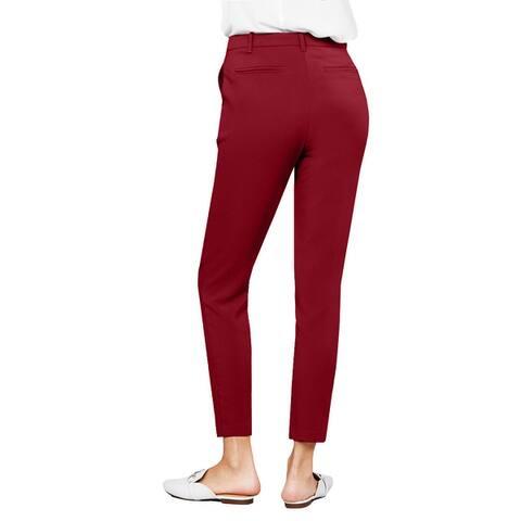 NE PEOPLE Women's Simple Seam Side Pocket Classic Long Pants S-3XL NEWP105