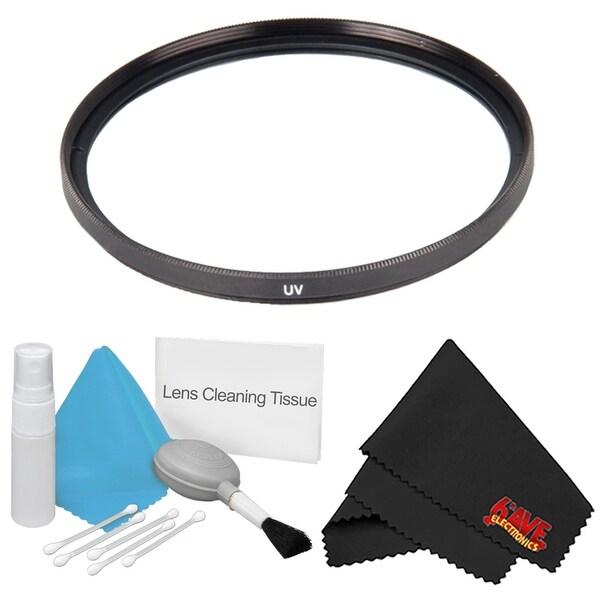 Microfiber Cloth Bundle: Shop 55mm UV Filter + Deluxe Cleaning Kit + MicroFiber