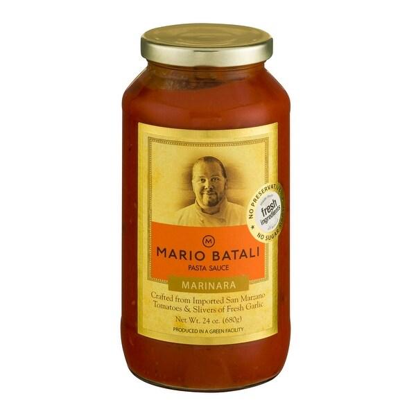 Mario Batali Marinara Pasta Sauce - Case of 6 - 24 Fl oz.