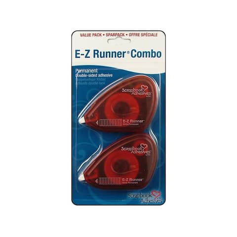 01646 3l scrapbk adh ez runner value pack 2pc