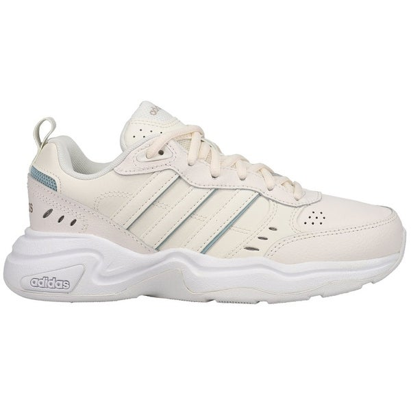adidas Strutter Lace Up Womens Sneakers Shoes Casual - White. Opens flyout.