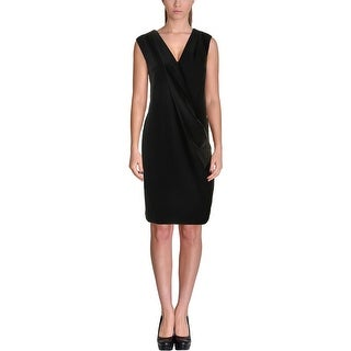 DKNY Womens Cocktail Dress Sleeveless Tuxedo
