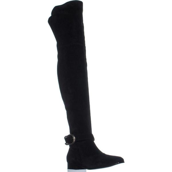 279e6266e33e Shop Gucci 432083 Square Toe Over The Knee Boots