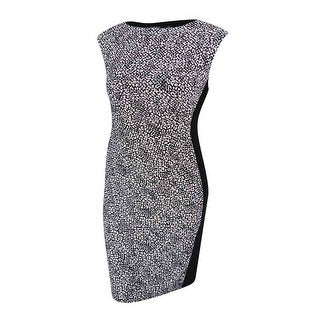 Lauren Ralph Lauren Women's  Printed Ruched Dress - 12
