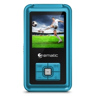 Mp3 Player, Ematic Blue Mp3 Video Player With Fm Tuner [ Em208vidbu ]