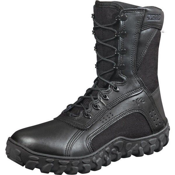 "Rocky Tactical Boots Mens 8"" S2V Special Opps Black"