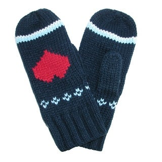 CTM® Women's Thick Knit Mittens