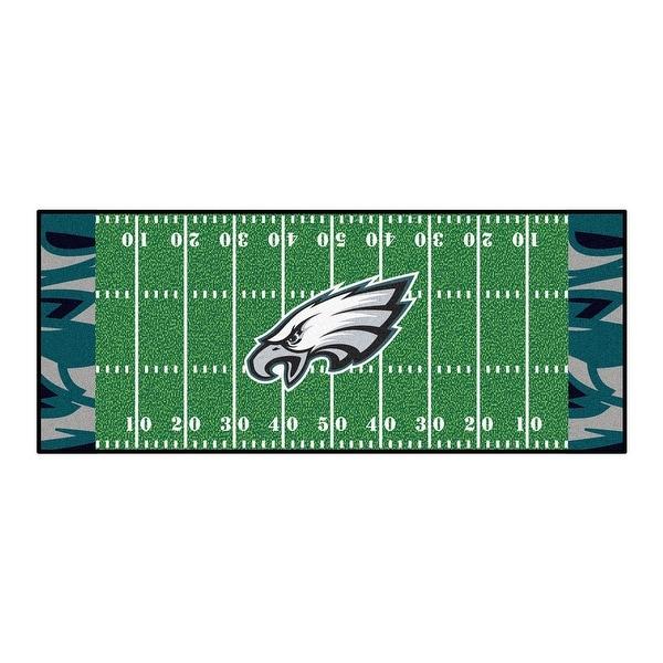 Shop Nfl Philadelphia Eagles Football Field Runner Mat