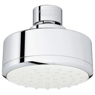 Grohe 26 051 1  Tempesta Cosmopolitan 1.5 GPM Single Function Rain Shower Head - Starlight Chrome