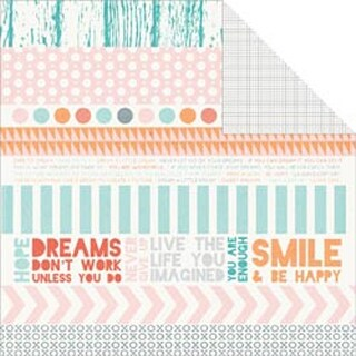 "Wishing - Dream Big Double-Sided Cardstock 12""X12"""