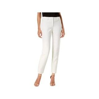 Tommy Hilfiger Womens Stanford Dress Pants Scuba Crop
