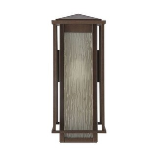 "Park Harbor PHEL1701 Beech Lane 16"" Tall Single Light Outdoor Wall Sconce"