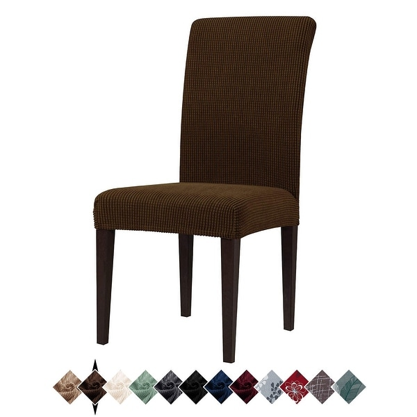 4 Pack Stretch Dining Chair Slipcovers, Washable Chair Covers. Opens flyout.