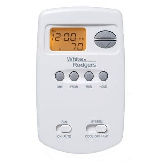 White-Rodgers 1E78-151 Digital 5/2 Day Programmable Vertical Thermostat with Ene - na - N/A