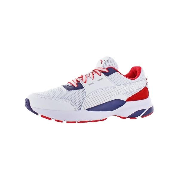 78b7b8eec35611 Puma Mens Future Runner Premium Athletic Shoes SoftFoam Athleisure