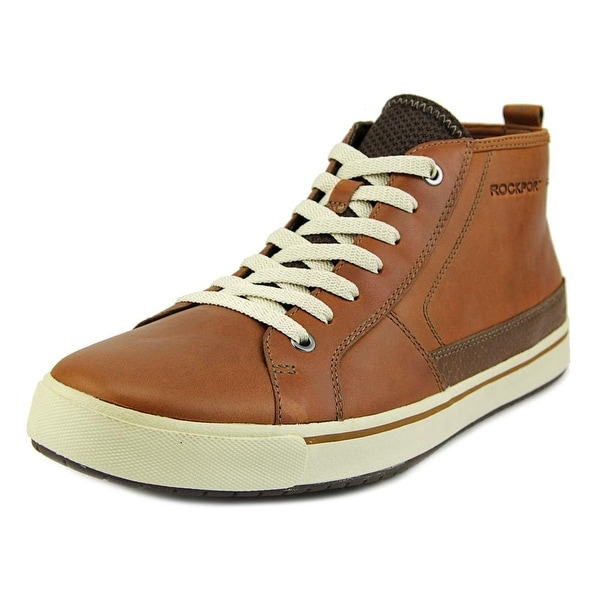 Rockport Path To Greatness Men Round Toe Leather Tan Chukka Boot
