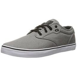 Globe Men's Motley Skateboarding Shoe - grey chambray