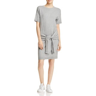 Vince Womens Sweaterdress Heathered Short Sleeves - M