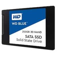 Western Digital SSD WDS250G2B0A 250GB SATA III 6Gb/s 2.5inch 7mm Blue 3D NAND Retail