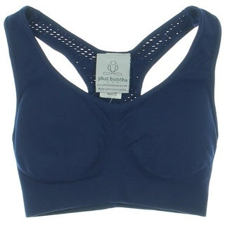 Phat Buddha Womens Cut-Out Halter Sports Bra - o/s