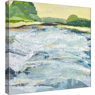 "PTM Images 9-97882  PTM Canvas Collection 12"" x 12"" - ""Open Spaces 6"" Giclee Waves Art Print on Canvas"