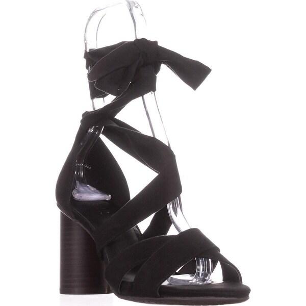Kenneth Cole REACTION 7 Rita Lita Lace Up Sandals, Black