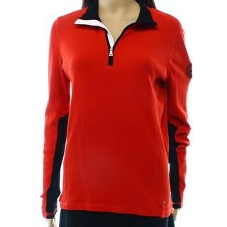 Lauren Ralph Lauren NEW Red Women's Size Large L Pullover Sweater
