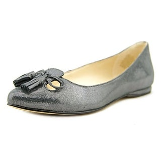Nine West Simily Cap Toe Leather Flats