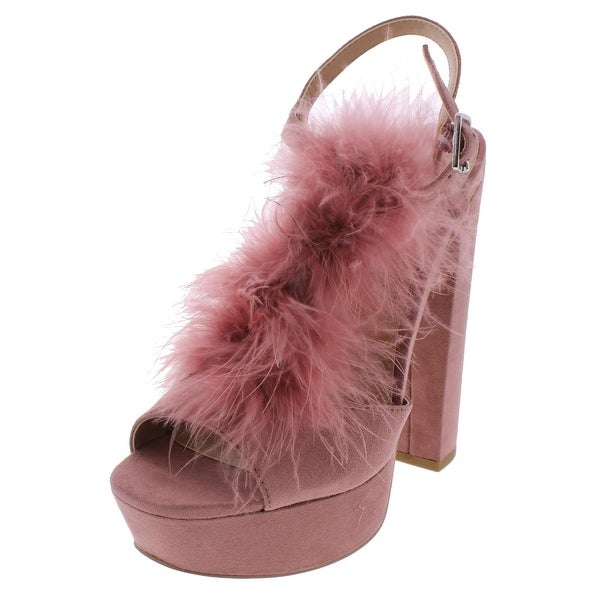 Steve Madden Womens Tricia T-Strap Sandals Open Toe Platform