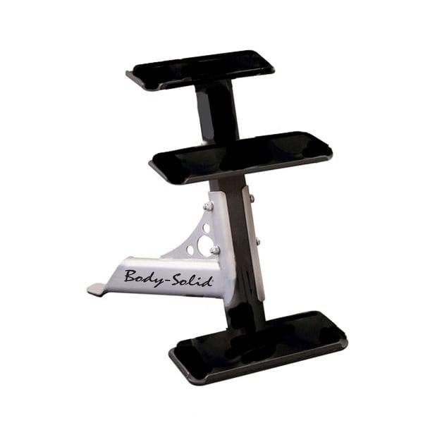 Body-Solid 3-Tier Kettlebell Rack - Black
