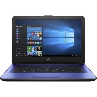 HP 14-am052nr W2M36UA Notebook PC - Intel Celeron N3060 1.6 GHz Dual-Core Processor - 4 GB DDR3L SDR-NEW