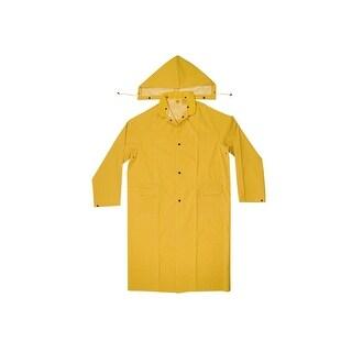 CLC R105X 2 Piece Heavyweight PVC Trench Coat, Yellow, XL