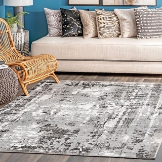 Link to Porch & Den Welsh Abstract Area Rug Similar Items in Industrial Rugs
