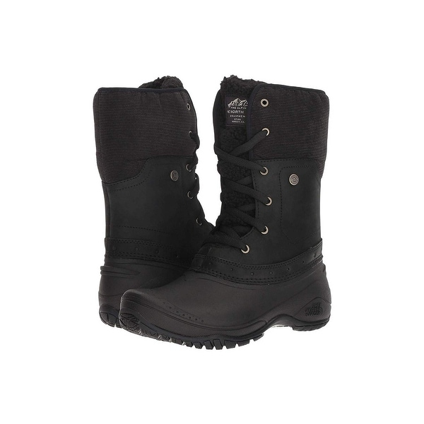 The North Face Womens Shellista Fabric Open Toe Ankle Cold Weather Boots. Opens flyout.