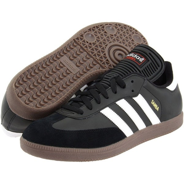 Shop Adidas Samba Classic Leather Indoor Soccer Shoes